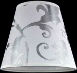 lampshade color pvc silver leaf white Chandeliers