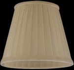 lampshade color organdy beige Chandeliers