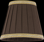 lampshade color fabric brown Chandeliers