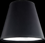 lampshade color pvc black chrome Table lamps