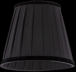 lampshade color fabric black Chandeliers