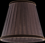 lampshade color organdy brown Table lamps