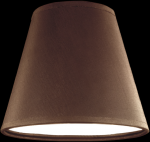 lampshade color pvc brown Table lamps