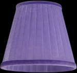 lampshade color organdy lilac Chandeliers
