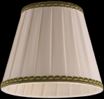 lampshade color fabric beige Chandeliers