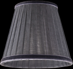 lampshade color organdy graphite Table Lamps