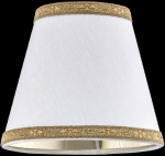 lampshade color pvc white gold Table lamps