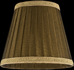 lampshade color organdy bronze Chandeliers