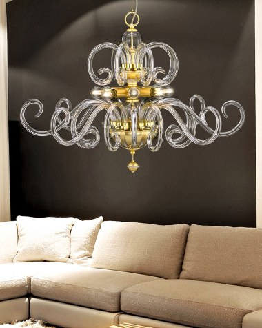 Modern chandelier collection Amadeus