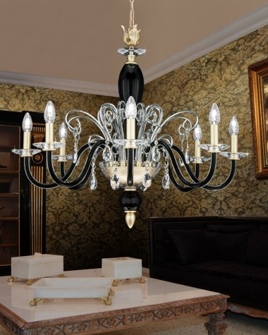 Contessa crystal classic chandelier