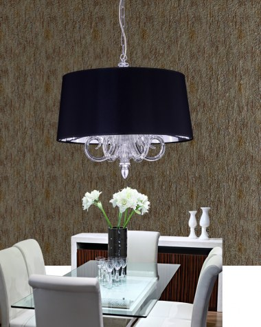 Dafne crystal pendant light