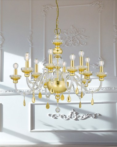 Juliana contemporary crystal chandelier