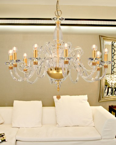 Kassandra classic crystal chandelier Swarovski Elements
