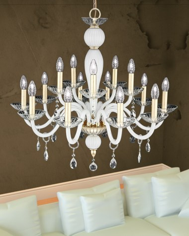 Leonie crystal chandelier collection
