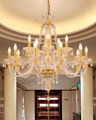 Mirsini classic crystal chandelier