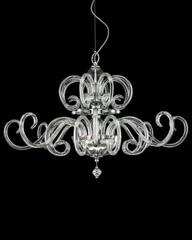 Chandeliers Amadeus 119/SG chrome modern crystal chandelier